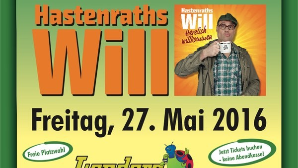 Hastenraths Will live im Gartencenter Lenders