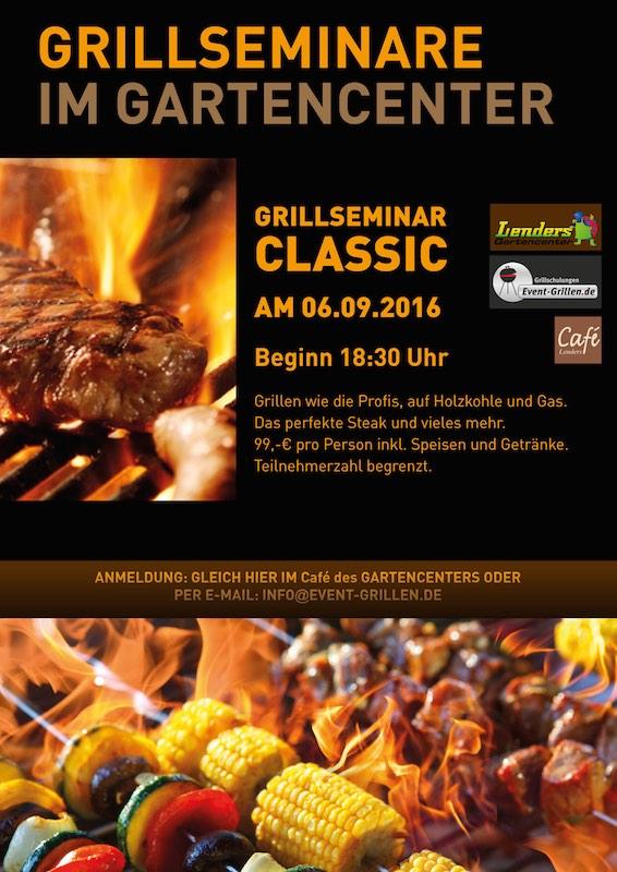Grillseminar Classic 06.09.2016