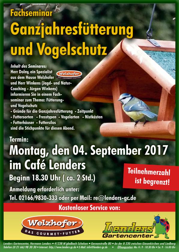Seminar Ganzjahresfütterung und Vogelschutz