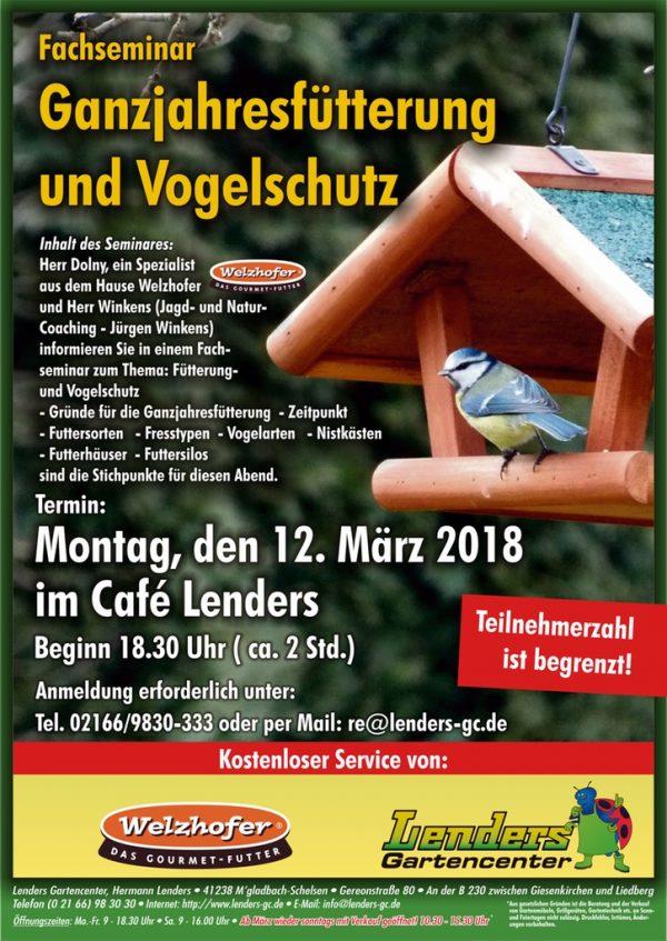 Ganzjahresfütterung und Vogelschutz