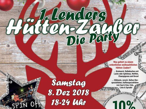 """1. Lenders-Hütten-Zauber """"die Party"""""""