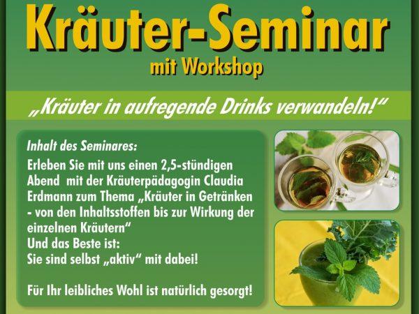 Kräuter-Seminar mit Workshop