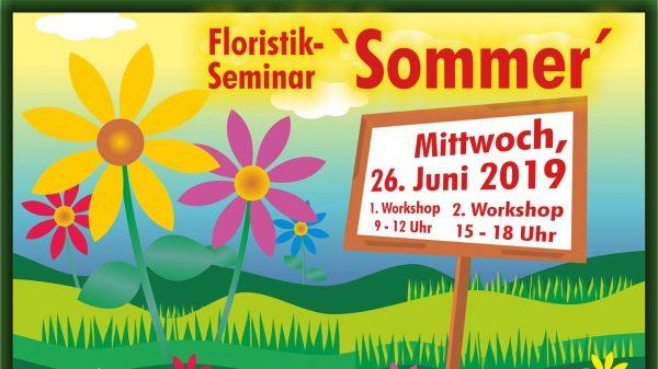 Floristik-Sommer-Seminar
