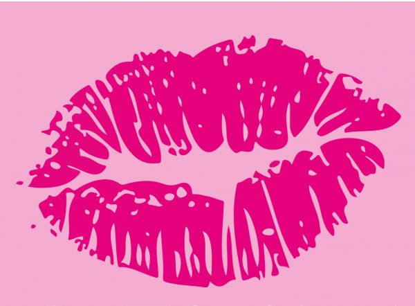 Blüten und Küsse in Pink